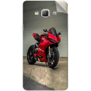 Snooky Printed panigale 1199 Motor cycle bike Pvc Vinyl Mobile Skin Sticker For Samsung Galaxy E7