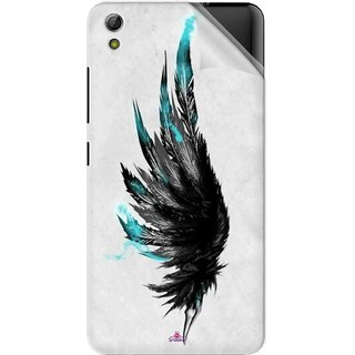 Snooky Printed wing tattoo Pvc Vinyl Mobile Skin Sticker For Gionee Pioneer P6