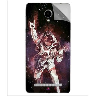 Snooky Printed Rock Astronaut Pvc Vinyl Mobile Skin Sticker For Vivo Y28