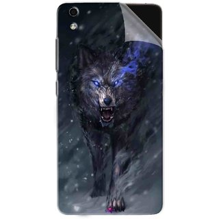 Snooky Printed Wolf Spirit Animal Pvc Vinyl Mobile Skin Sticker For LYF Water 5