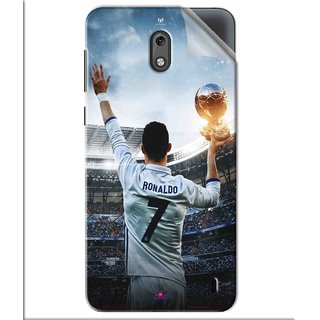 Snooky Printed Ronaldo Pvc Vinyl Mobile Skin Sticker For Nokia 2