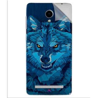 Snooky Printed southside festival wolf Pvc Vinyl Mobile Skin Sticker For Vivo Y28