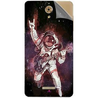 Snooky Printed Rock Astronaut Pvc Vinyl Mobile Skin Sticker For Coolpad Mega 2.5D