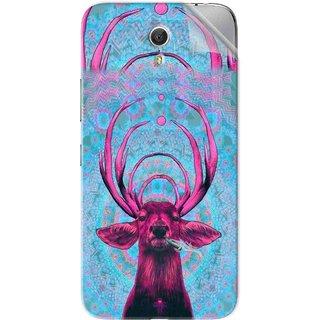 Snooky Printed acid deer Pvc Vinyl Mobile Skin Sticker For Lenovo Zuk Z1
