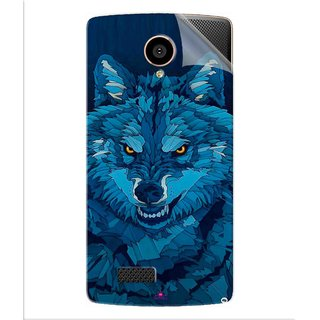 Snooky Printed southside festival wolf Pvc Vinyl Mobile Skin Sticker For LYF Flame 7