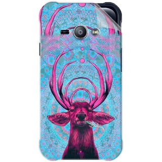 Snooky Printed acid deer Pvc Vinyl Mobile Skin Sticker For Samsung Galaxy Ace J1