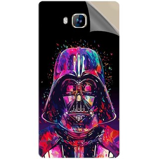 Snooky Printed Star War soldier Pvc Vinyl Mobile Skin Sticker For LYF Wind 2
