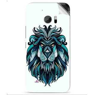 Snooky Printed andreaspreis lion Pvc Vinyl Mobile Skin Sticker For HTC One M10