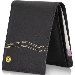 4314e8f02d65 Buy POLLSTAR RFID Blocking technology mens Wallet (WL62BK) Online ...