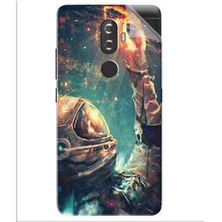 Snooky Printed astronaut wallpaper Pvc Vinyl Mobile Skin Sticker For Lenovo K8
