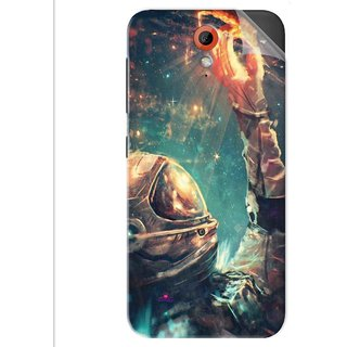 Snooky Printed astronaut wallpaper Pvc Vinyl Mobile Skin Sticker For Htc Desire 620