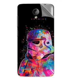 Snooky Printed star wars fan art Pvc Vinyl Mobile Skin Sticker For Vivo Y21