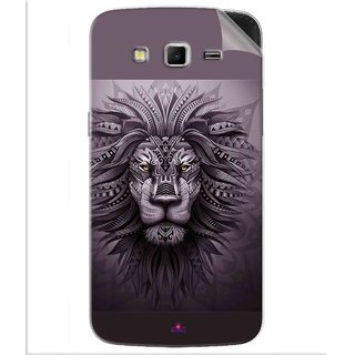 Snooky Printed lion zion Pvc Vinyl Mobile Skin Sticker For Samsung Galaxy Grand 2