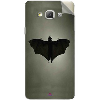 Snooky Printed Bat Pvc Vinyl Mobile Skin Sticker For Samsung Galaxy A7