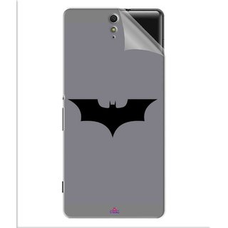 Snooky Printed Batman Cartoon Pvc Vinyl Mobile Skin Sticker For Sony Xperia C5