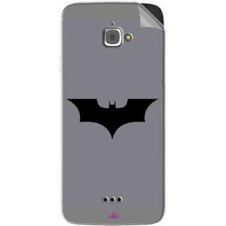Snooky Printed Batman Cartoon Pvc Vinyl Mobile Skin Sticker For InFocus M350