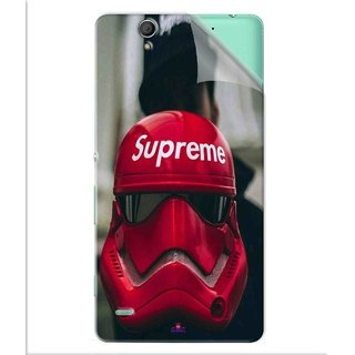 Snooky Printed Supreme star war Pvc Vinyl Mobile Skin Sticker For Sony Xperia C4