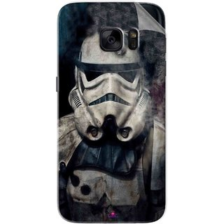 Snooky Printed star wars Pvc Vinyl Mobile Skin Sticker For Samsung Galaxy S7