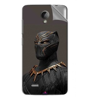 Snooky Printed The Golden Jaguar Suit Black Panther Pvc Vinyl Mobile Skin Sticker For Vivo Y22