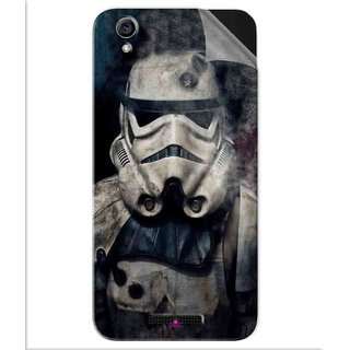 Snooky Printed star wars Pvc Vinyl Mobile Skin Sticker For Lava Iris Atom 3