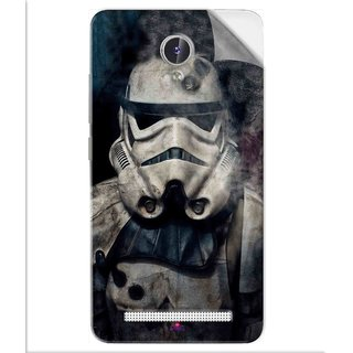 Snooky Printed star wars Pvc Vinyl Mobile Skin Sticker For Lava Iris Fuel F1
