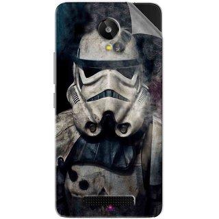 Snooky Printed star wars Pvc Vinyl Mobile Skin Sticker For Lava Iris X1 Selfie