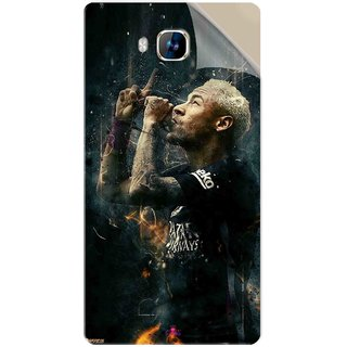 Snooky Printed The Magician  Neymar FootBall Pvc Vinyl Mobile Skin Sticker For LYF Wind 2