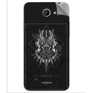 Snooky Printed black panther movie Pvc Vinyl Mobile Skin Sticker For Htc Desire 516
