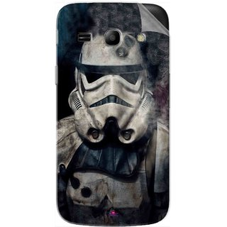 Snooky Printed star wars Pvc Vinyl Mobile Skin Sticker For Samsung Galaxy Star Advance