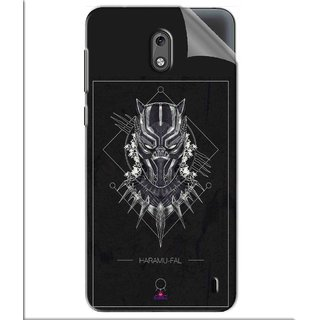 Snooky Printed black panther movie Pvc Vinyl Mobile Skin Sticker For Nokia 2