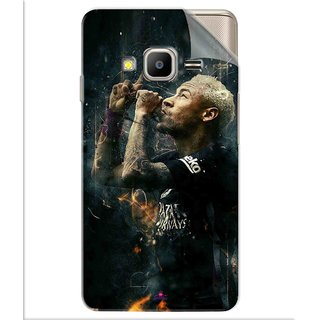 Snooky Printed The Magician  Neymar FootBall Pvc Vinyl Mobile Skin Sticker For Samsung Z2