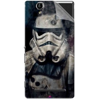 Snooky Printed star wars Pvc Vinyl Mobile Skin Sticker For Sony Xperia T2 Ultra