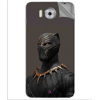 Snooky Printed The Golden Jaguar Suit Black Panther Pvc Vinyl Mobile Skin Sticker For Panasonic Eluga Note