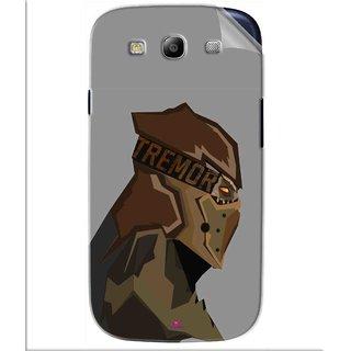 Snooky Printed Tremor War God Pvc Vinyl Mobile Skin Sticker For Samsung Galaxy S3
