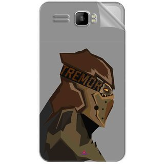 Snooky Printed Tremor War God Pvc Vinyl Mobile Skin Sticker For Intex Aqua R3 Plus