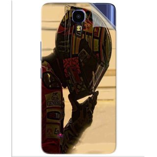 Snooky Printed valentino rossi racing Pvc Vinyl Mobile Skin Sticker For Infinix Note 4