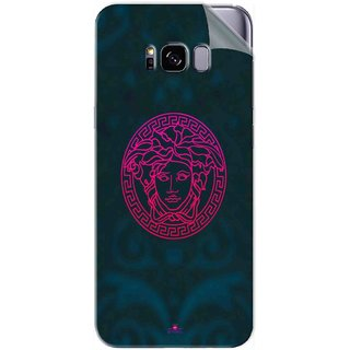 new style f3a43 8f923 Snooky Printed Versace Pvc Vinyl Mobile Skin Sticker For Samsung Galaxy S8  Plus