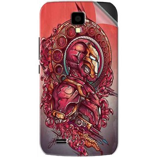 Snooky Printed Vintage Iron Man Pvc Vinyl Mobile Skin Sticker For Gionee Pioneer P2S