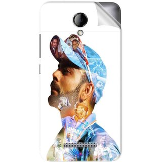 Snooky Printed virat kohli Pvc Vinyl Mobile Skin Sticker For Karbonn Titanium Machfive
