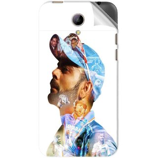 Snooky Printed virat kohli Pvc Vinyl Mobile Skin Sticker For Intex Aqua 4g Plus