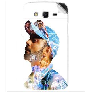 Snooky Printed virat kohli Pvc Vinyl Mobile Skin Sticker For Samsung Galaxy Grand 2