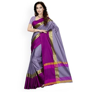 ae215bfcb14504 Buy Indian Beauty Women s Plain Art Silk Saree With Blouse Online - Get 80%  Off