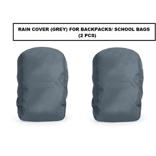 Rain / Dust Cover (Grey) for Backpacks (2 Pcs.)