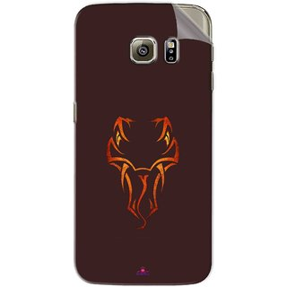Snooky Printed Randy Orton Logo Wwe Pvc Vinyl Mobile Skin Sticker For Samsung Galaxy S6 Edge