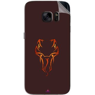 Snooky Printed Randy Orton Logo Wwe Pvc Vinyl Mobile Skin Sticker For Samsung Galaxy S7