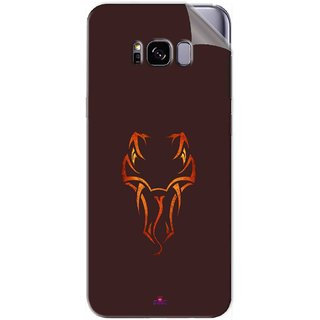 Snooky Printed Randy Orton Logo Wwe Pvc Vinyl Mobile Skin Sticker For Samsung Galaxy S8 Plus