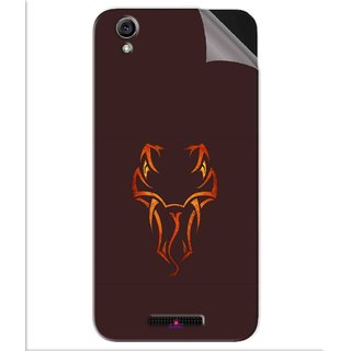Snooky Printed Randy Orton Logo Wwe Pvc Vinyl Mobile Skin Sticker For Lava Iris Atom 3