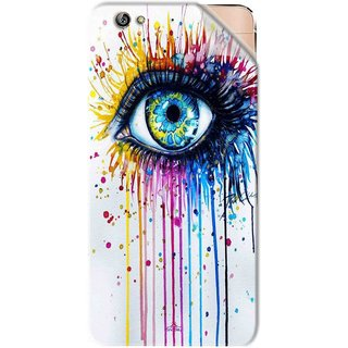 Snooky Printed eye artists Pvc Vinyl Mobile Skin Sticker For Gionee Elife S6
