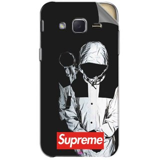 Snooky Printed Sad Supreme Pvc Vinyl Mobile Skin Sticker For Samsung Galaxy j2