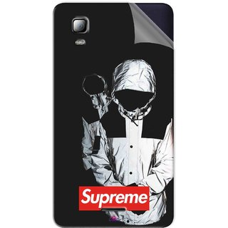 Snooky Printed Sad Supreme Pvc Vinyl Mobile Skin Sticker For Micromax Canvas Doodle 3 A102
